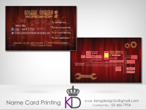 Malaysia ● Perak ● Ipoh ● Kampar ● Name Card Printing ● Business Card Printing ● Delivery Service 80